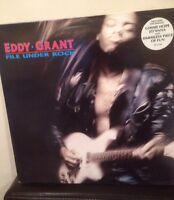 EDDY GRANT - File Under Rock - 1988 Vinyl LP - New/Unplayed NOS - PCS7320
