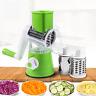 Vegetable Cutter Slicer Round Manual Mandoline Slicers Multi functional Kitchen