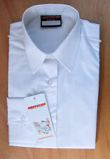 Ladies/Girls Size 32in Long Sleeve School Uniform Blouse Tie Collar White