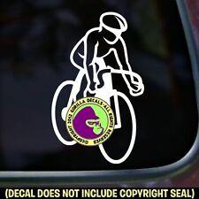 Cycling Road Biking Vinyl Decal Sticker Bicycle Cycle Bike Vinyl Car Laptop Sign