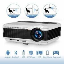 Blue-tooth Projector Wireless Android Projector Smart Screen Mirroring WiFi Apps