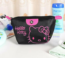 New Cute Hello Kitty Pencil Pen Case Cosmetic Makeup Bag Accessory Organizer BL