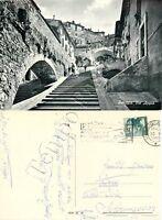Cartolina di Perugia, via Appia - 1966