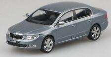 Skoda Superb II - Steel Grey Metallic  Model Car By Abrex 1:43 SCALE RefSKO18