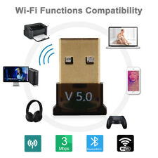 USB Bluetooth 5.0 Wireless Dongle Audio Adapter Adapter Real PC Receiver Stereo