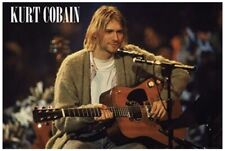 More details for kurt cobain unplugged landscape maxi poster by gb eye lp1943