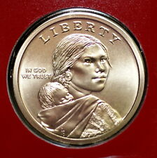 2010 D Sacagawea Native American ~ Pos A Satin Coin in Mint Wrap from Mint Set