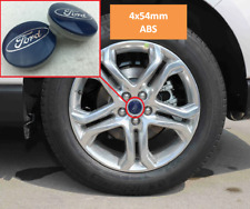 4 x 54mm for Ford Emblem Blue Wheel Cover Hub Cap Hubcap Rim Cap Wheel Lid