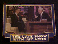 BARACK OBAMA THE LATE SHOW JAY LENO WILLABEE & WARD COMMEMORATIVE SERIES PIN
