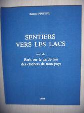 Franche-Comté: Sentiers vers les lacs + Le garde-fou des clochers, 1986, num,TBE
