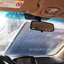 Former Block Retractable Car Curtain Window Roller Sun Shade Protector 58*125cm