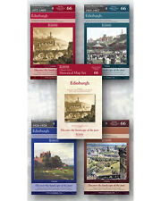 Edinburgh Ordnance Survey Historical Maps Collection Set of Five Maps
