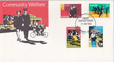 1980 Community Welfare FDC - Mt Gravatt Qld 4122 PMK