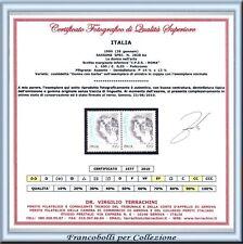 Repubblica Varietà Donna Arte con BARBA n. 2828 Aa Cert