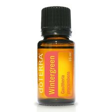 doTERRA Wintergreen Pure Essential Oil 15ml Massage Skin Aches Pains Oral Care