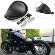 "UK Black Motorcycle Solo Seat 3"" Spring Bracket For Motor Chopper Bobber"