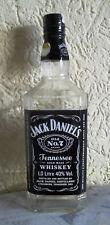 Whiskey, Whisky, 1 leere Flasche, 1 Liter, Jack Daniels