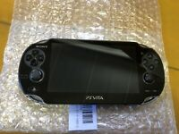PlayStation PS Vita Wi-Fi Console Crystal Black PCH-1000 ZA01 Console sony