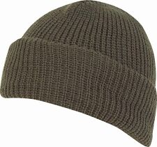 a100005c NEW MIL-COM THERMAL ACRYLIC BOB HAT IN BLACK OR GREEN-WINTER/ECW