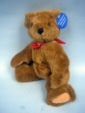 """Vermont Teddy Bear Co. 13"""" Jointed Plush Bear - Summit Bank Exclusive"""