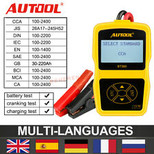 Auto Battery System Tester Lead Acid Car Charging Test Analyze 12V Autool BT360