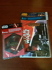 star wars loot bags and invitations