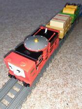 Trackmaster REVOLUTION Thomas & friends train MOTORISED GLYN, TRUCKS & CARGO