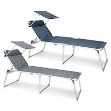 Berger Sonnenliege XL  Campingliege Strandliege Gartenliege Dreibeinliege 150 kg