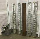 5 Ceiling Tin Panels, Egg & Dart Reclaimed Molding, Architectural Salvage C