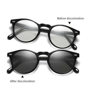 Womens Transition Photochromic Sunglasses HD Polarized Driving Glasses UV Shades