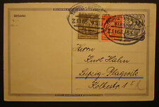 "Dr 1922: toda cosa Ga P 150 como ferrocarril post ""tren 1163"" n Leipzig plagwitz"