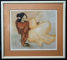 An Original R C Gorman Fine Art Print Beautifully Mounted and Matted