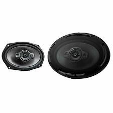 "Kenwood KFC-D691 600 W Max 4-Way 6"" x 9"" 4-Ohms Stereo Car Audio Speakers"