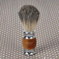 Dachshaar Badger Nassrasur Silber Harz Rasiere Rasur Rasierpinsel Shaving Brush