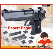 New Kids Gun Toys Blocks Pistol Toy gun model assembling pistol US