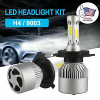 2pcs H4 9003 36W 6000LM COB LED Car Headlight Sets Conversion 6000K White Bulb