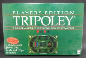 HTF Vintage 1989 Tripoley Players Edition Card Game #300 FACTORY SEALED Rare