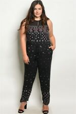 9e689ce12dd8 Paisley Jumpsuit Black Jumpsuits   Rompers for Women