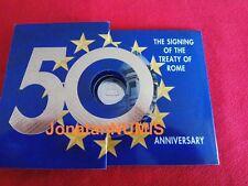 IRLANDA 2007 KMS - 9 VALORES - CARTERA OFICIAL 8 CON 2 EUROS 50 ANV TRATADO ROMA