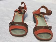 Camper Women's Sandals Size 6 (European Size 39) Orange and Brown