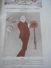 celebrities of fashion per CAPPIELLO Article Original Print 1903
