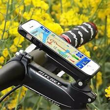 Bike MTB Handlebar Universal Metal Phone GPS Holder Mount Support Bracket Stand