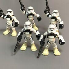 Lot 5Pcs Playskool Star Wars Galactic Heroes Jedi Force Sand Trooper Figure Toy