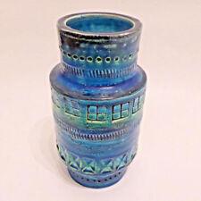 Blue Mid-Century Modern European Date-Lined Ceramics