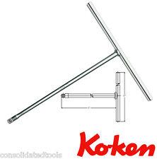KOKEN PRO TOOLS 3/8 SQ DRIVE T BAR SOCKET SPINNER 268 MM LONG HANDLE 3715