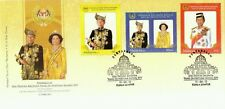 Installation OF 14th DYMM Agong Malaysia 2012 People King Royal (stamp FDC)