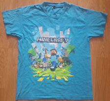 Minecraft Game T Shirt Tee Top Short Sleeves Cotton Size 146-152 Kids