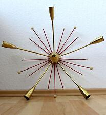 xl seltene Spider Sputnik 50's 60's Deckenlampe  Wandlampe Rockabilly Stilnovo