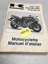 Kawasaki ZZR1400 A6 B6 2006 ABS ZX-14 ZZR 1400 revue technique manuel atelier