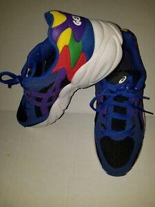 Asics Gel  Blue White Black Purple 1021A145 002 Men Running Size 8.5